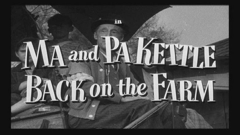 Ma and Pa Kettle (film) movie scenes