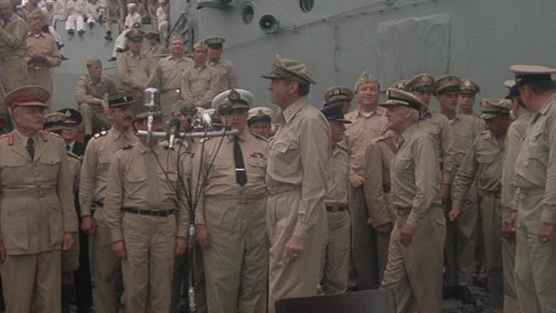 MacArthur (film) movie scenes