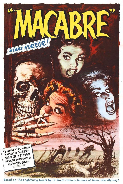 Macabre (1958 film) movie poster