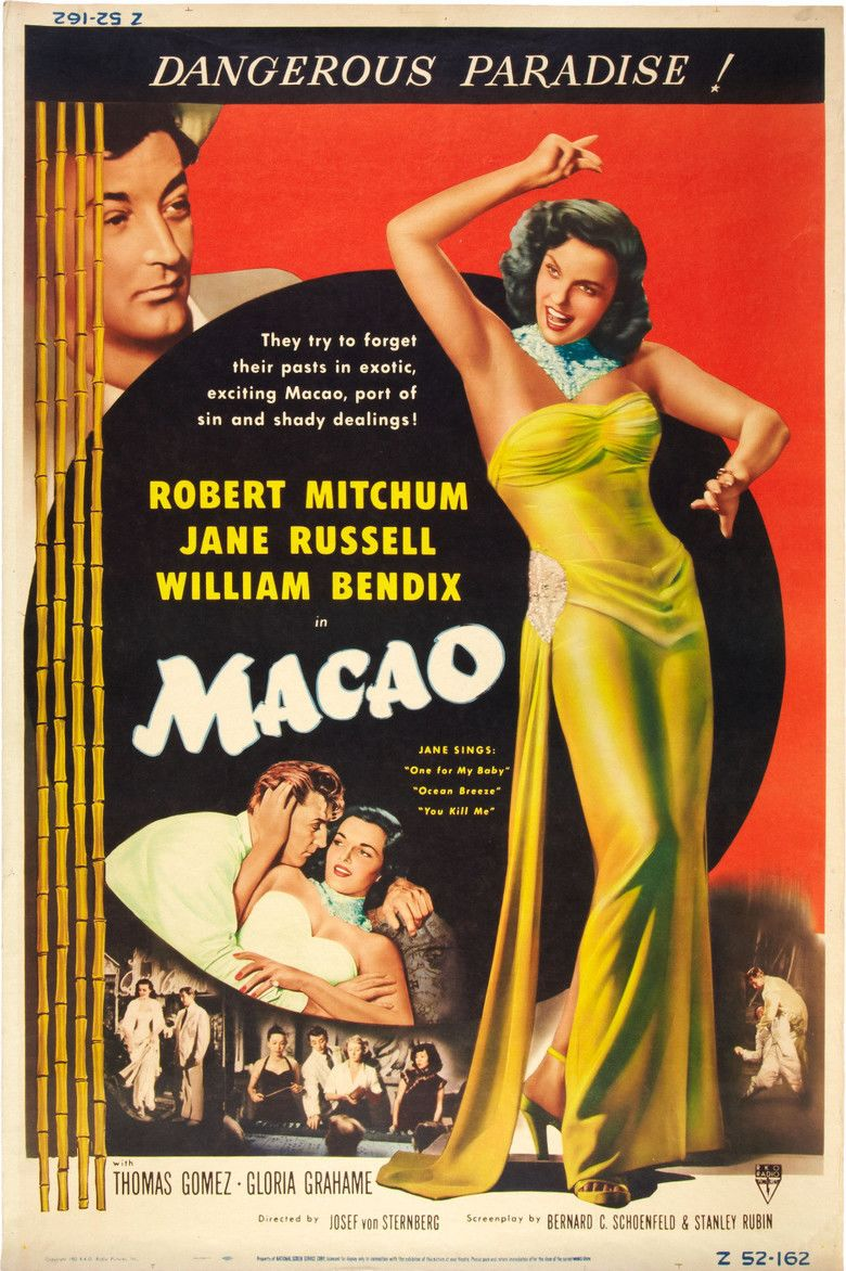Macao (film) movie poster