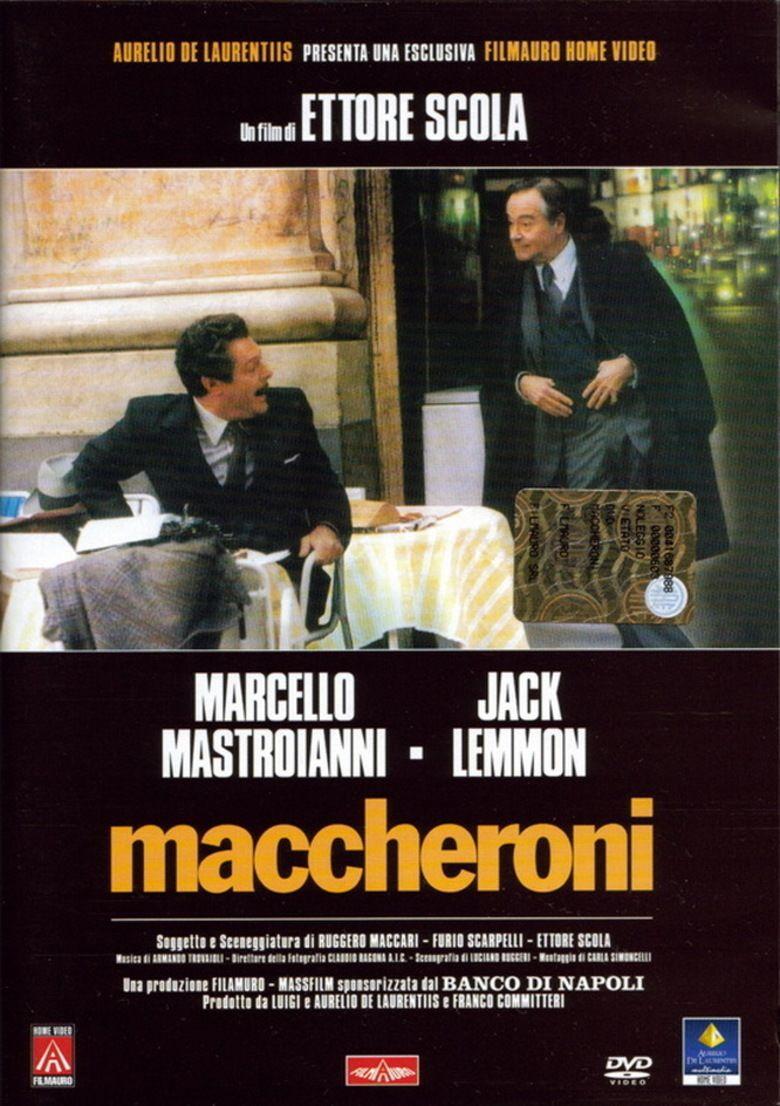 Macaroni (film) movie poster