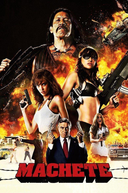 Machete (film) movie poster