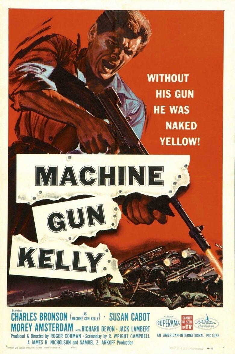 Machine Gun Kelly (film) movie poster