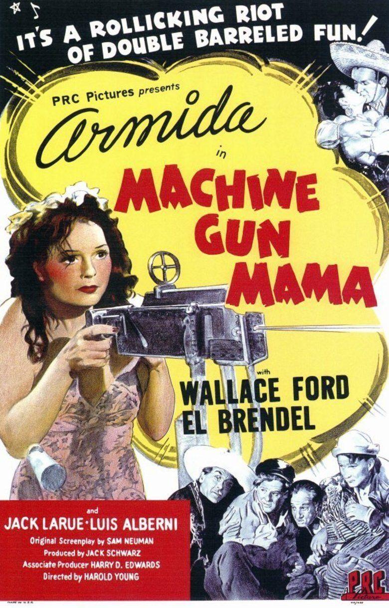 Machine Gun Mama movie poster