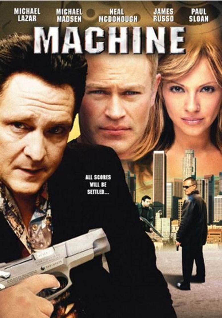 Machine (film) movie poster