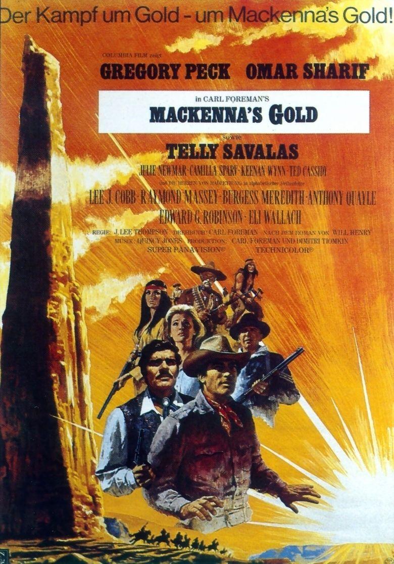Mackennas Gold movie poster