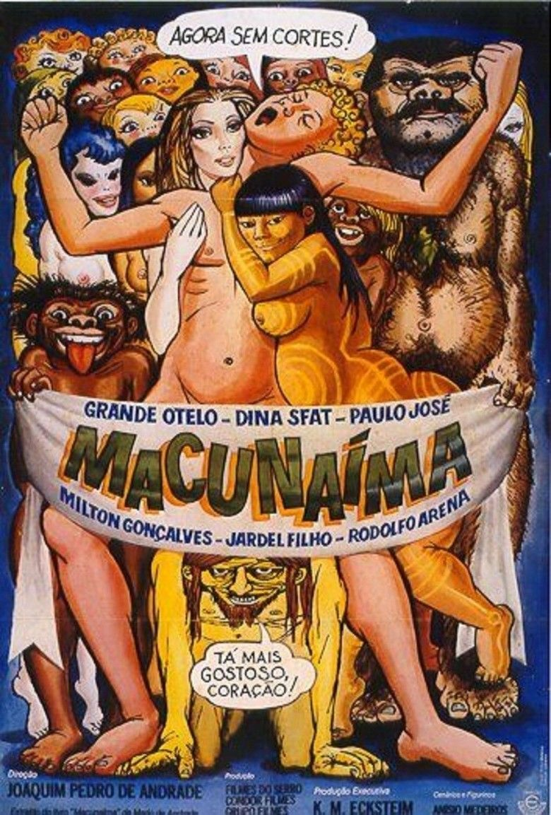 Macunaima (film) movie poster