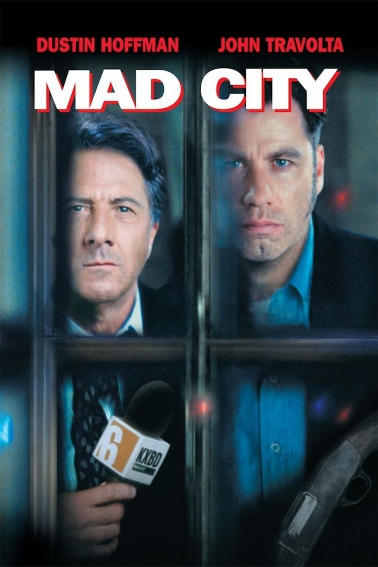 Mad City (film) movie poster