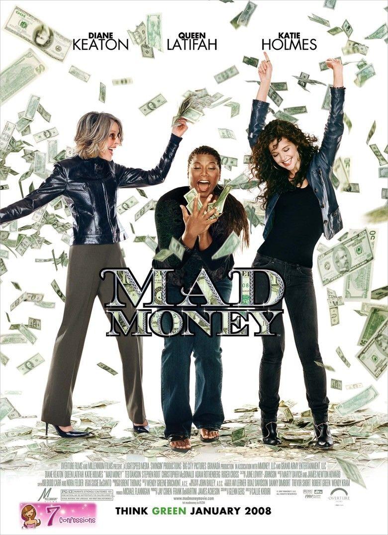 Mad Money (film) movie poster