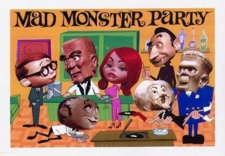 Mad Monster Party movie scenes