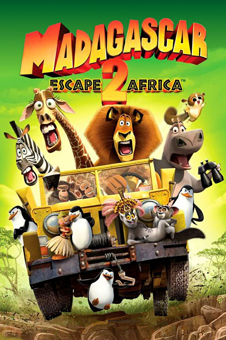 Madagascar: Escape 2 Africa movie poster