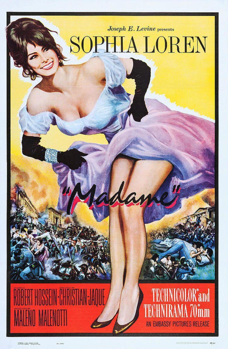 Madame (1961 film) movie poster