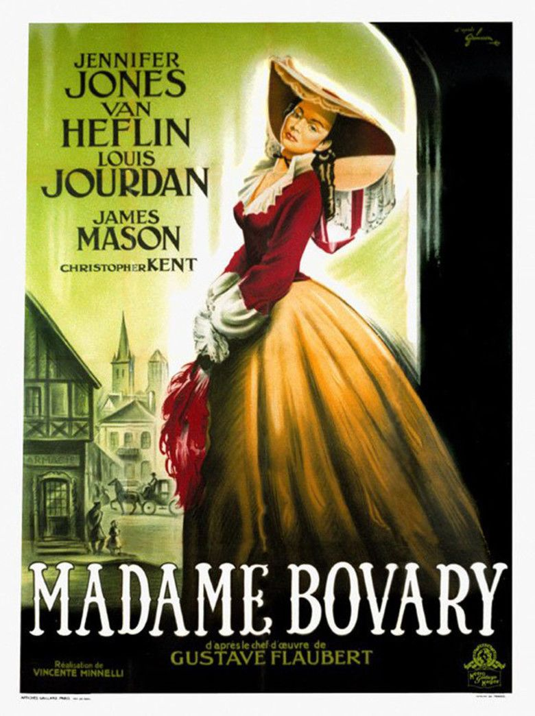 Madame Bovary (1949 film) movie poster