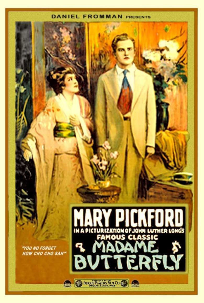 Madame Butterfly (1915 film) movie poster