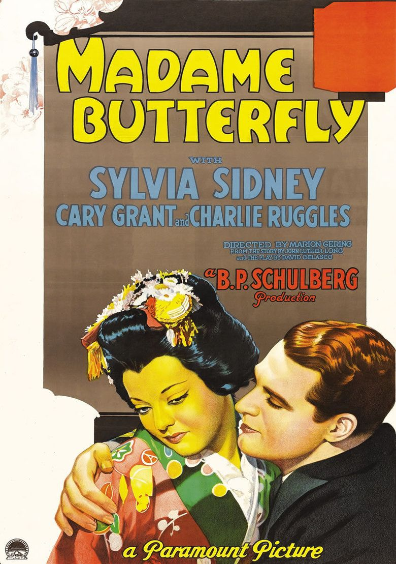 Madame Butterfly (1932 film) movie poster