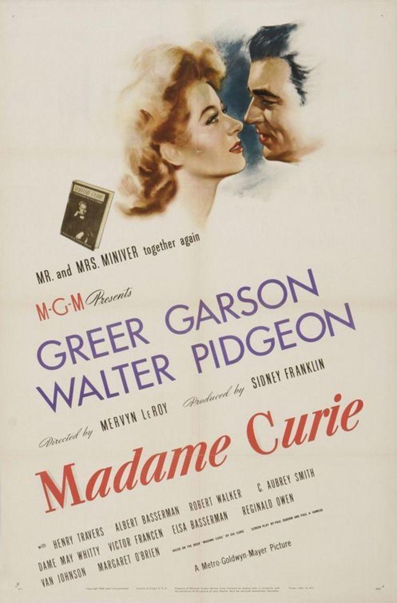 Madame Curie (film) movie poster