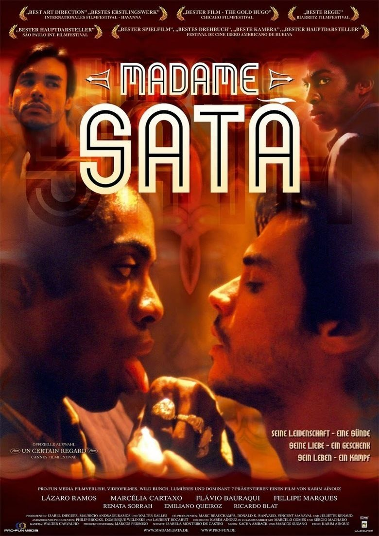 Madame Sata (film) movie poster
