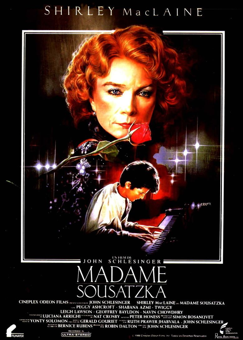 Madame Sousatzka movie poster