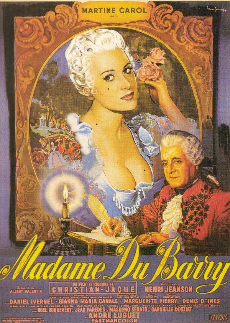 Madame du Barry (1954 film) movie poster