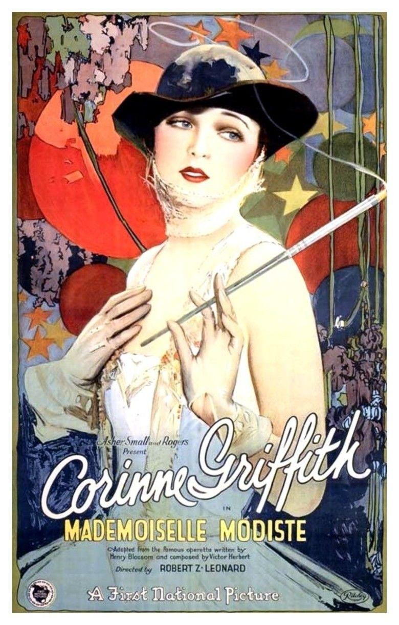 Madamoiselle Modiste (film) movie poster
