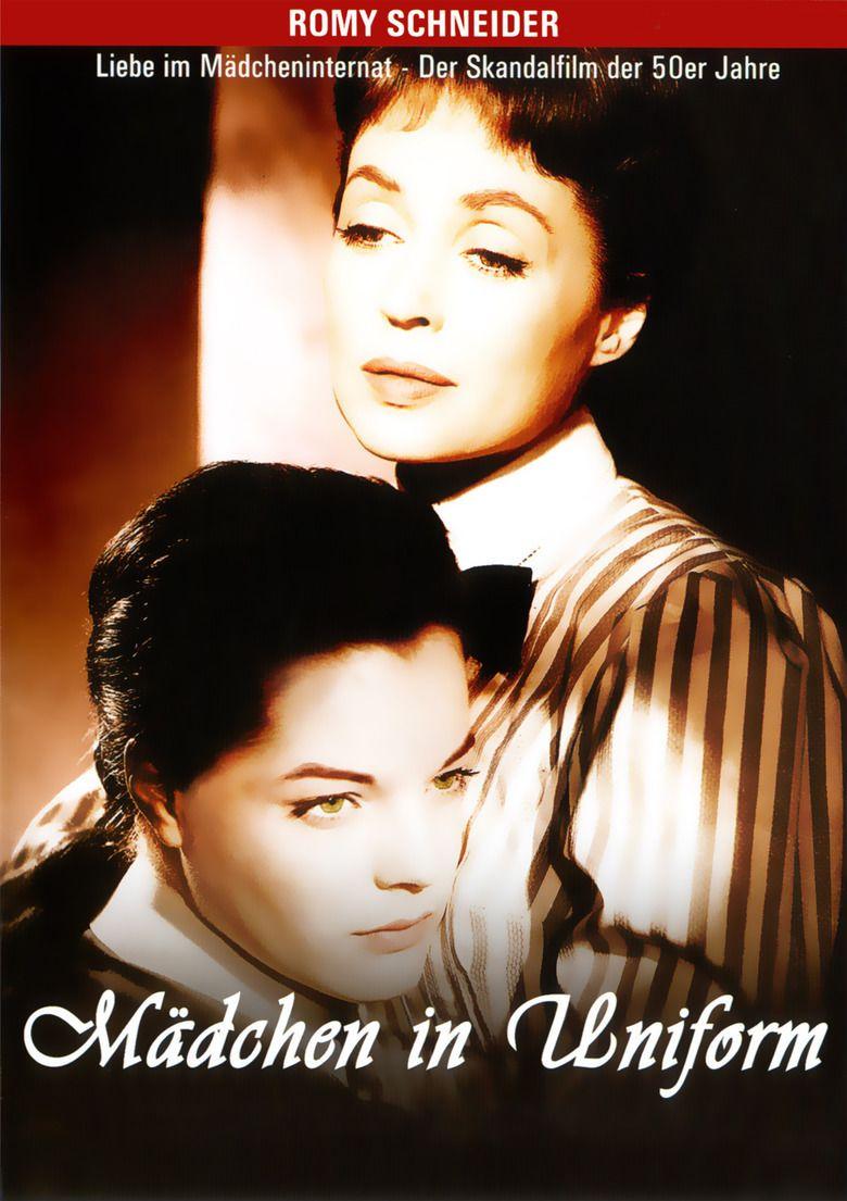 Madchen in uniform Romy Schneider vintage movie poster
