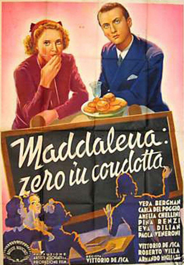 Maddalena, zero in condotta movie poster