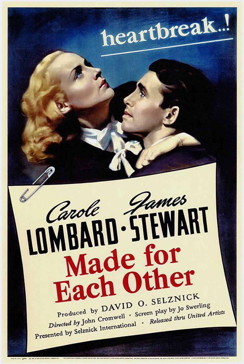 Made for Each Other (1939 film) movie poster