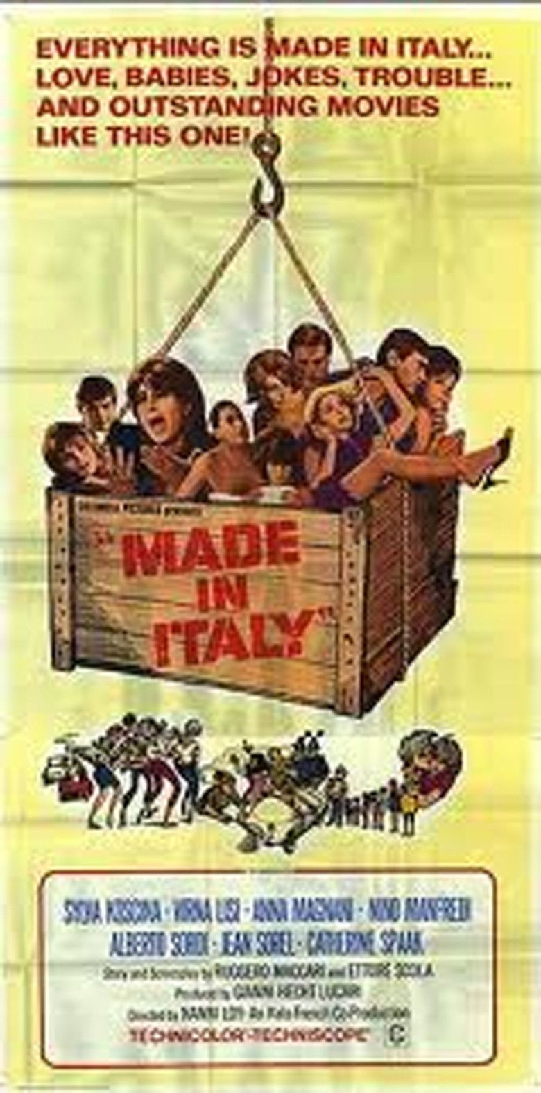 Made in Italy (film) movie poster