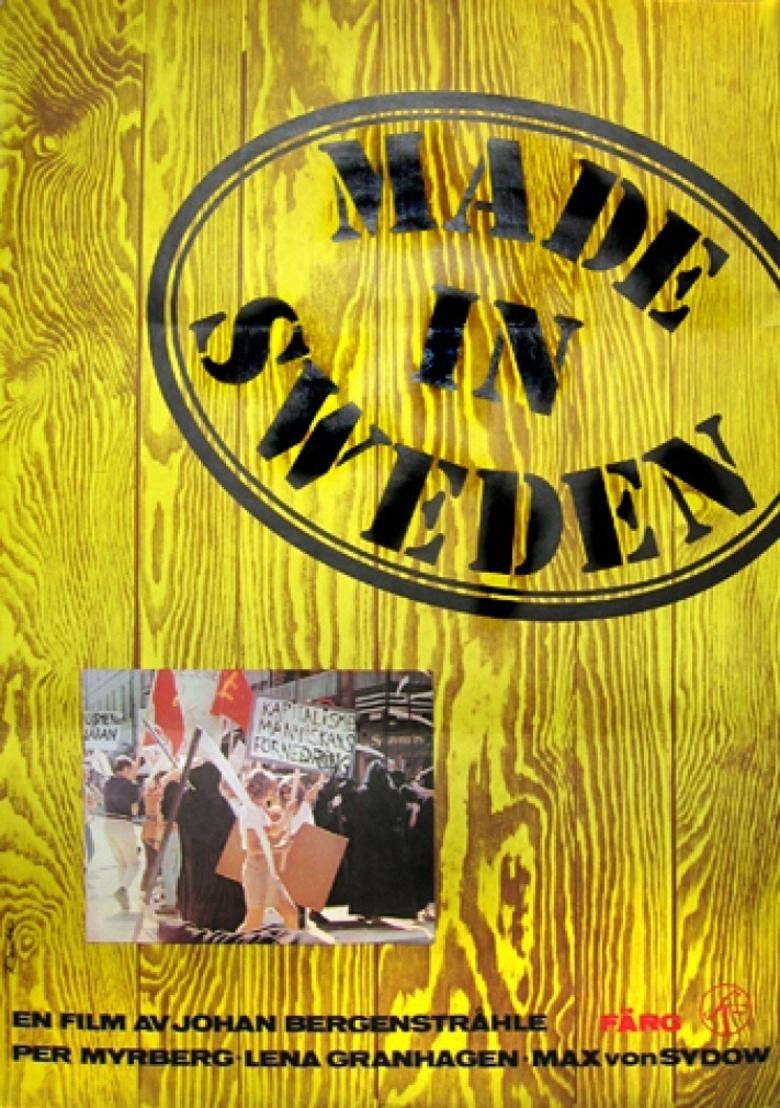 Made in sweden film movie poster