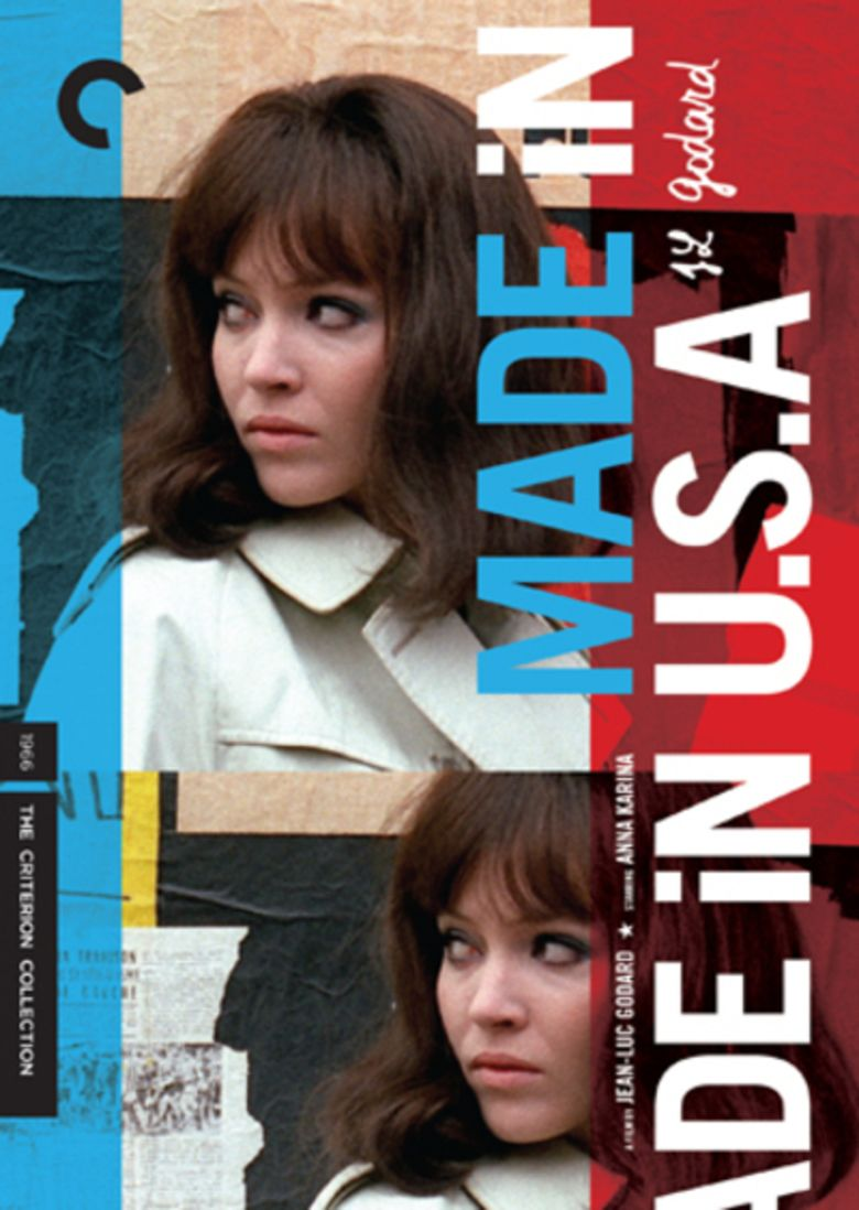 Made in USA (1966 film) movie poster