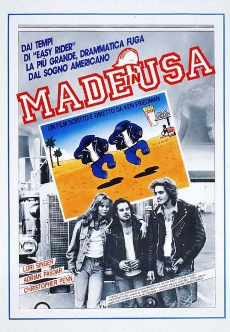 Made in USA (1987 film) movie poster