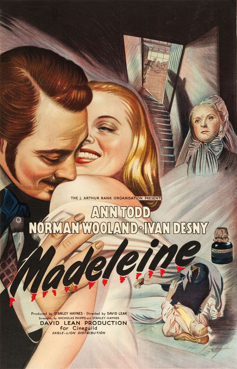 Madeleine (1950 film) movie poster