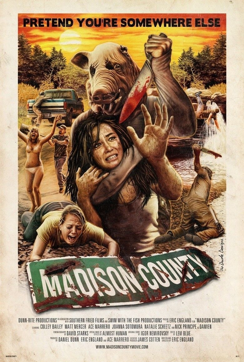 Madison County (film) movie poster