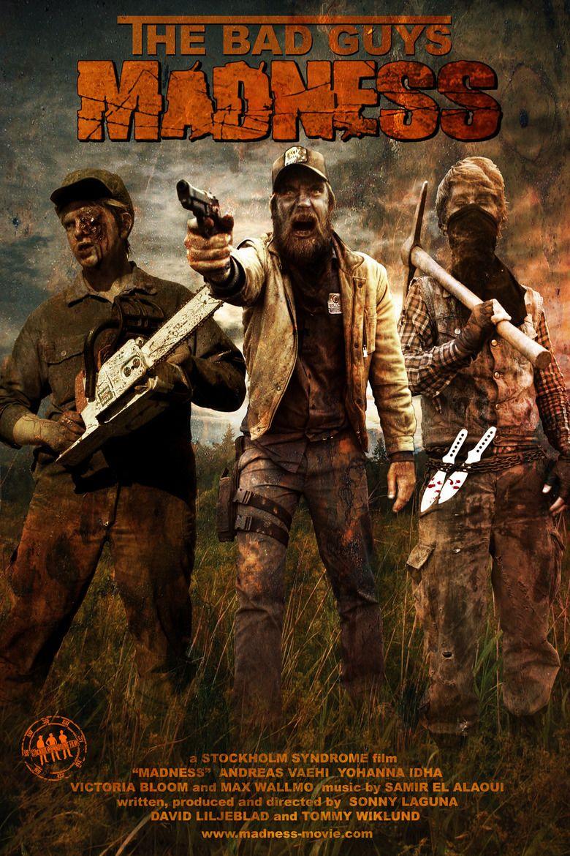 Madness (2010 film) movie poster