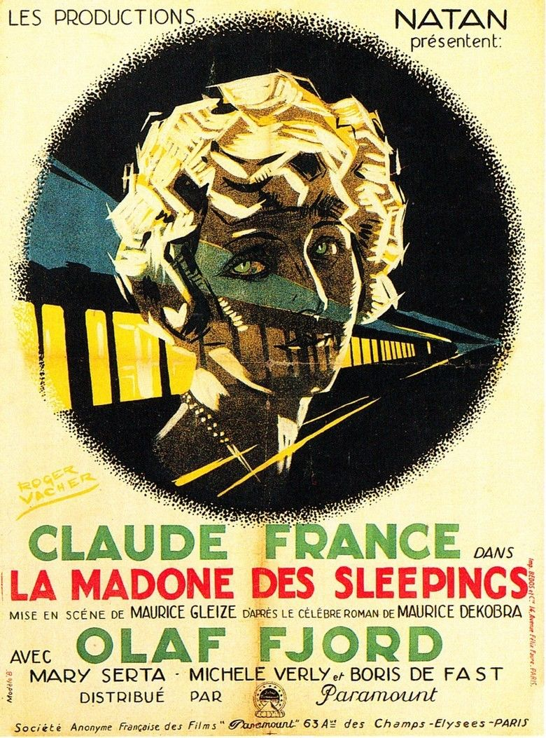 Madonna of the Sleeping Cars (1928 film) movie poster