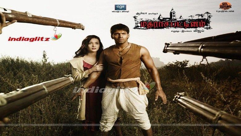 Madrasapattinam movie scenes