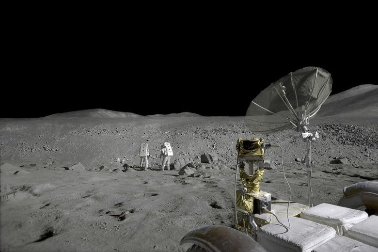 Magnificent Desolation: Walking on the Moon 3D movie scenes
