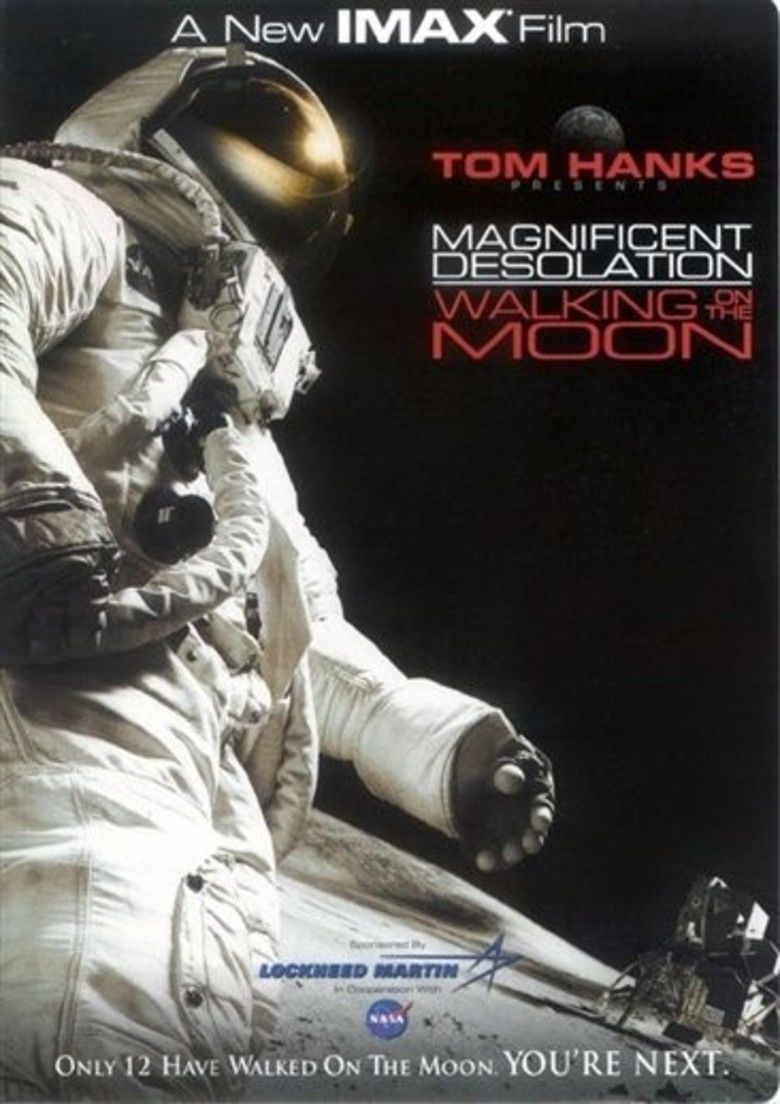 Magnificent Desolation: Walking on the Moon 3D movie poster
