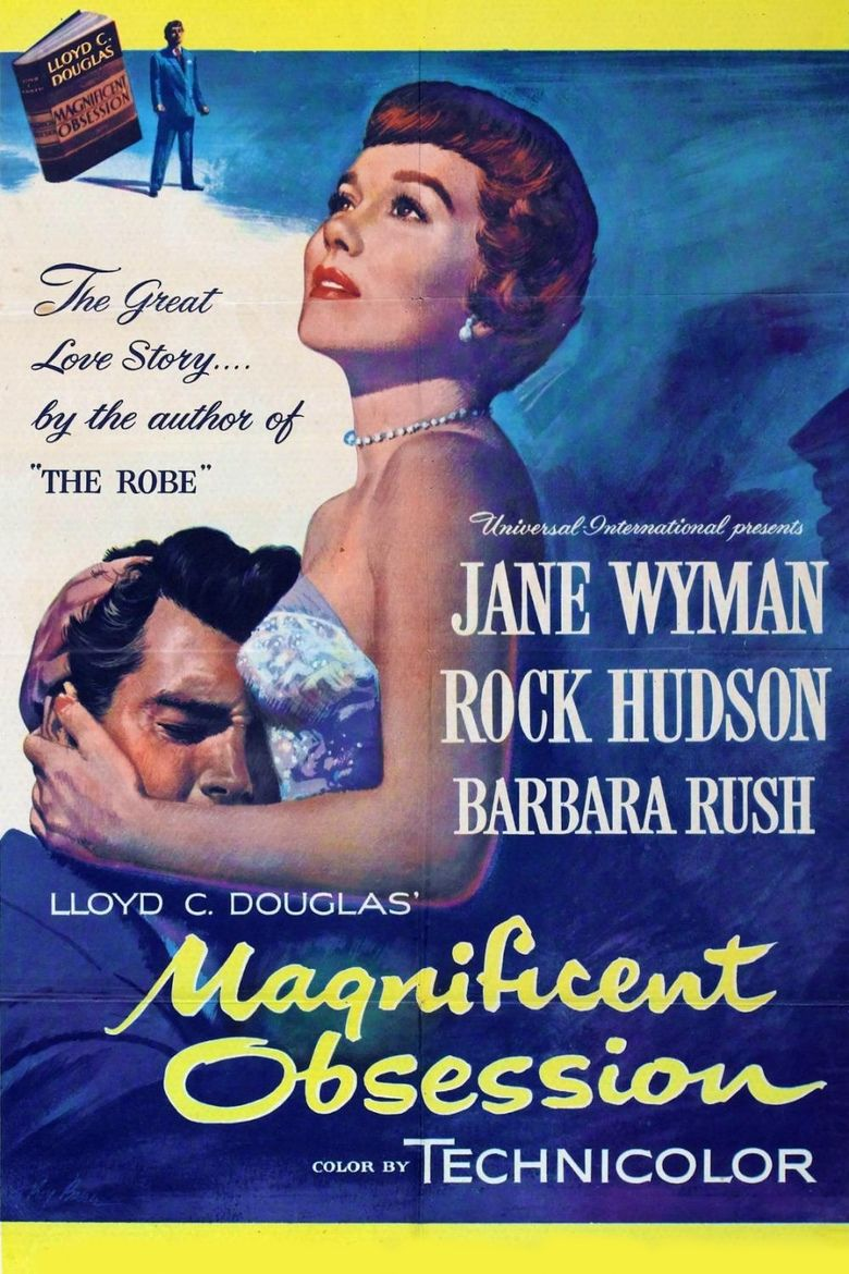 Magnificent Obsession (1954 film) movie poster