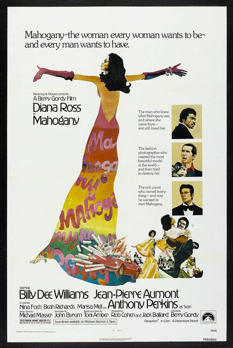 Mahogany (film) movie poster