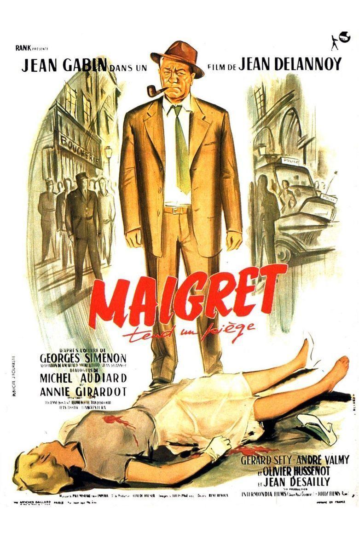 Maigret Sets a Trap (film) movie poster