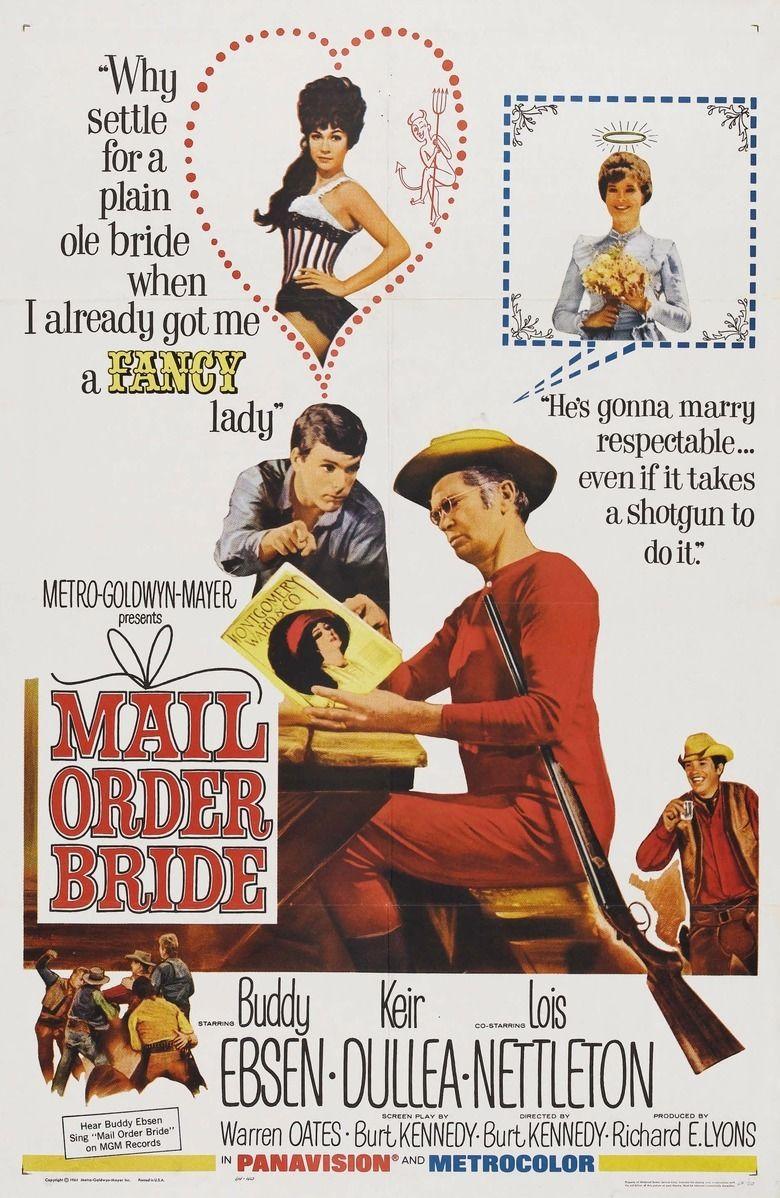 Mail Order Bride (1964 film) movie poster