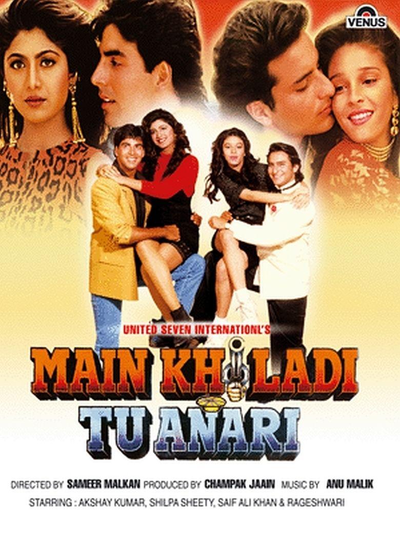 Main Khiladi Tu Anari movie poster