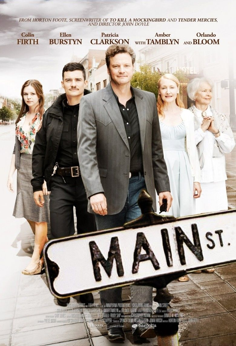Main Street (2010 film) movie poster