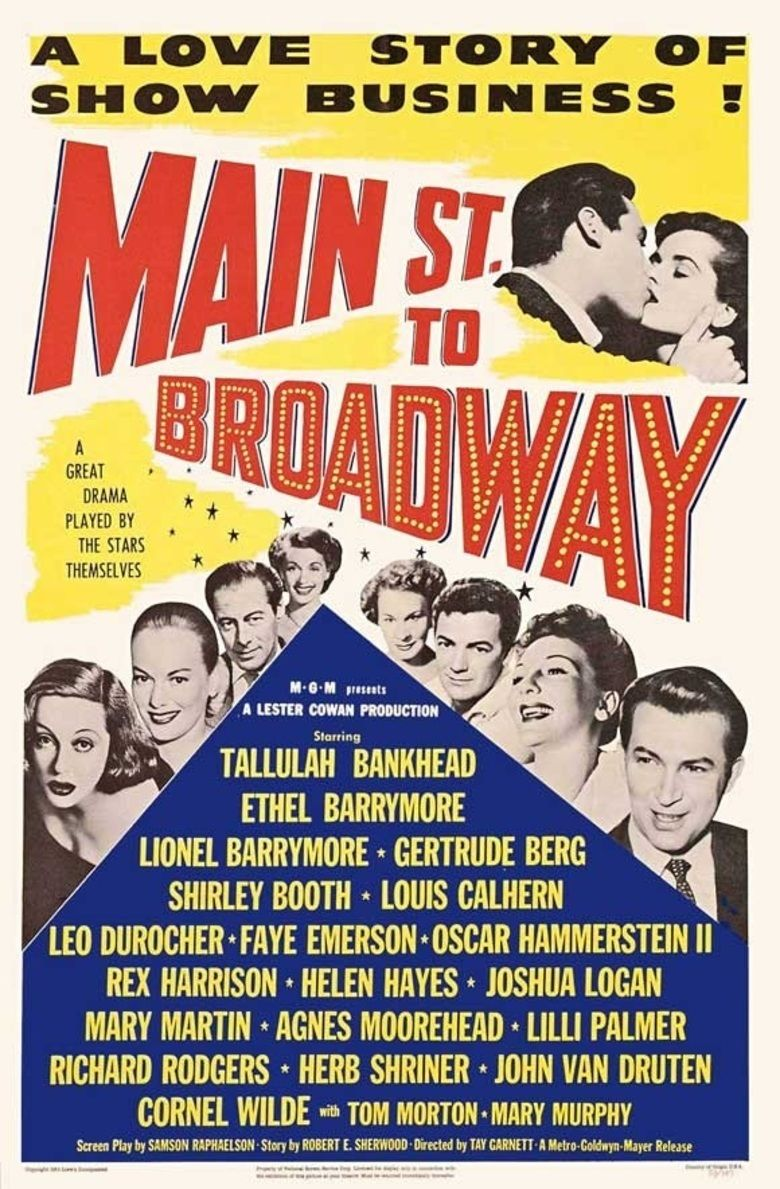 Main Street to Broadway movie poster