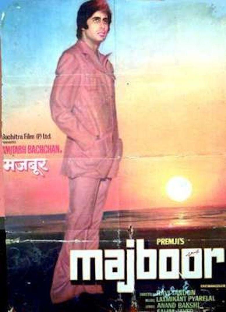 Majboor (1974 film) movie poster