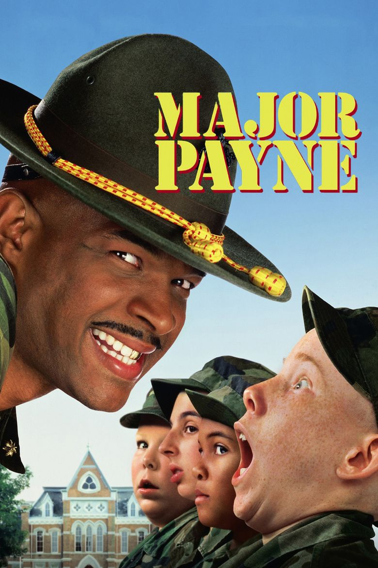 Major Payne movie poster