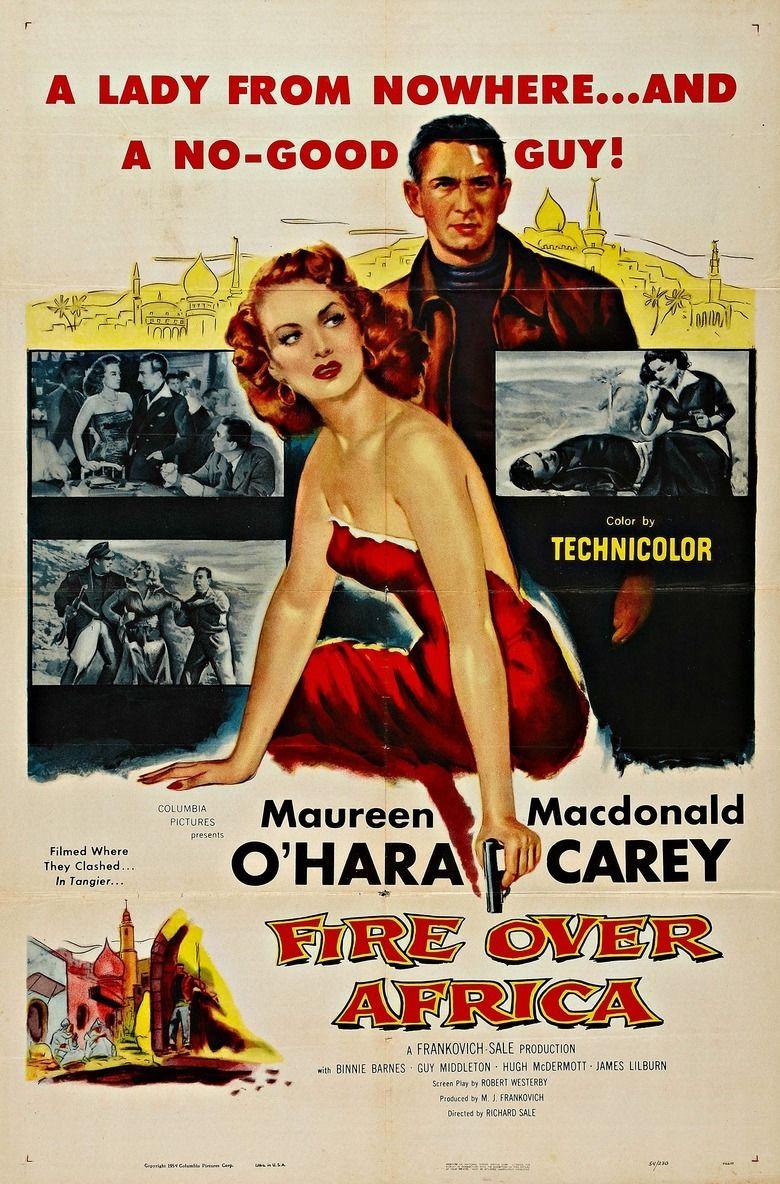 Malaga (1954 film) movie poster