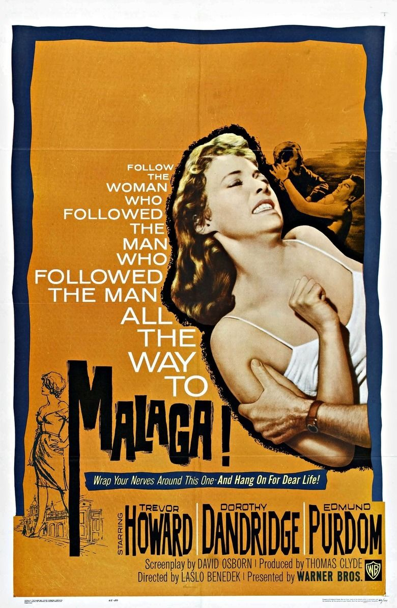 Malaga (1960 film) movie poster