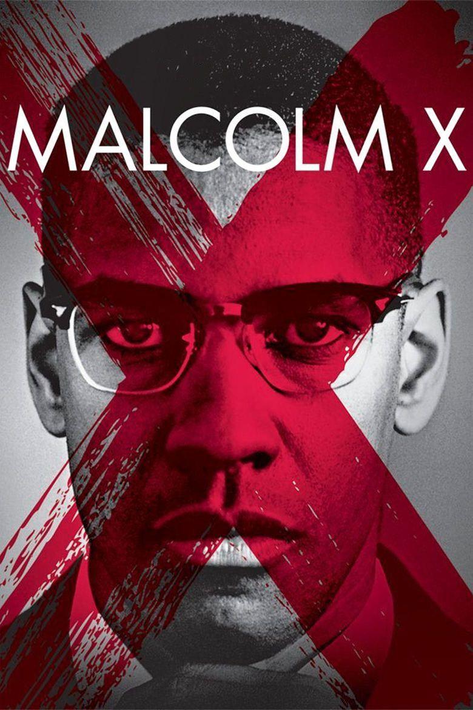 Malcolm X (1992 film) movie poster